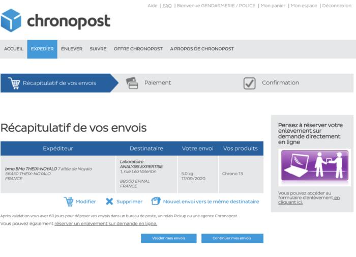 Analysis Expertise Envoi De Scelles Chronopost 09 07